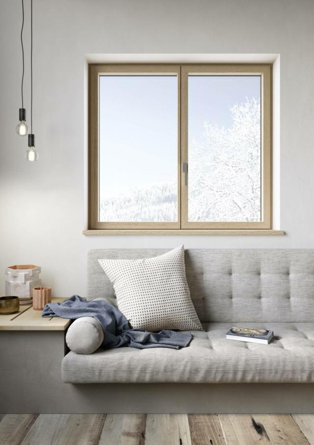 finestre sciuker EXO 55 LV rovere naturale