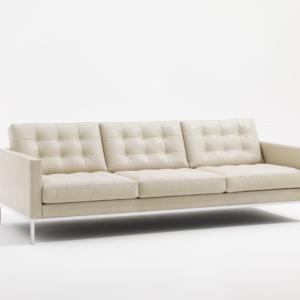 Divano Florence Knoll Lounge, design Florence Knoll