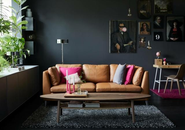 ikea stockolm divano living in stile anni cinquanta