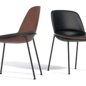 La sedia Germana di Jesse Italia, design Studio Favaretto & Partners, è impreziosita da dettagli sartoriali e finiture ricercate. La forma morbida la rende confortevole. www.jesse.it