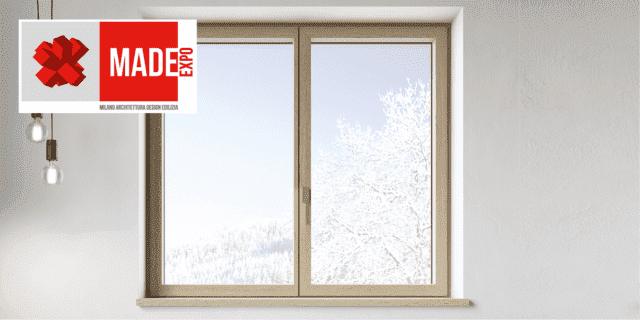 L'evoluzione dei serramenti di legno-alluminio a MADE Expo con Sciuker Frames