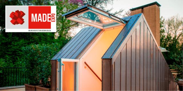 Luce, aria, design per ogni tipo di sottotetto: le novità Velux a MADE Expo