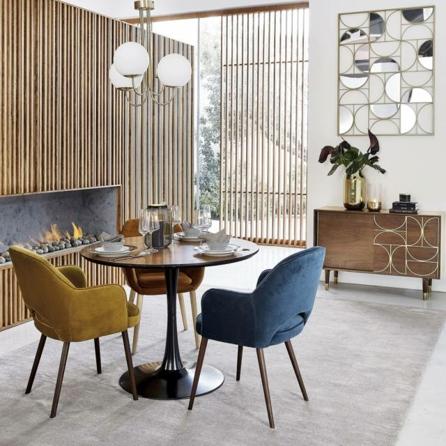 maisons du monde cappuccino credenza living in stile anni cinquanta