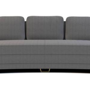 Wing di Marioni è il divano modulare connotato da una forma avvolgente e da uno schienale che si apre come una grande ala nella tradizione dello stile Art Déco americana. È imbottito in poliuretano a densità differenziata e foderato in velluto di cotone; i piedini sono in ottone spazzolato. www.marioni.it