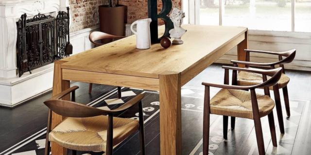 Tavolo rettangolare: 4 modelli con le sedie da abbinare
