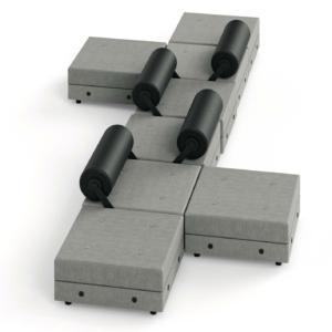 Il divano componibile Todo Modo di Tecno, design Jean–Michel Wilmotte, è caratterizzato dallo schienale mobile completamente reversibile. www.tecnospa.com