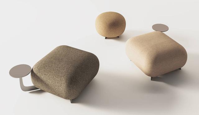 """Il pouf Code di True Design, design Parisotto + Formenton, è reso molto confortevole grazie dalle dimensioni importanti e dalla presenza di tavolini e schienali integrati. Permette di dare vita a composizioni """"su misura"""" grazie alle infinite configurazioni. www.truedesign.it"""