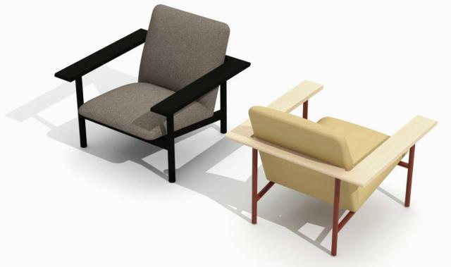 La poltrona Kinoko di Zilio Aldo & C, design Mentsen, ha una ricca imbottitura sostenuta dalla base squadrata, in legno o in metallo. È caratterizzata dalla presenza di grandi e sottili braccioli. www.zilioaldo.it