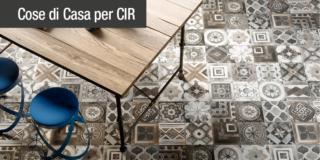 La tendenza vintage della ceramica decorata