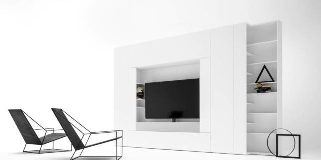 Caccaro Freedhome modulo porta tv