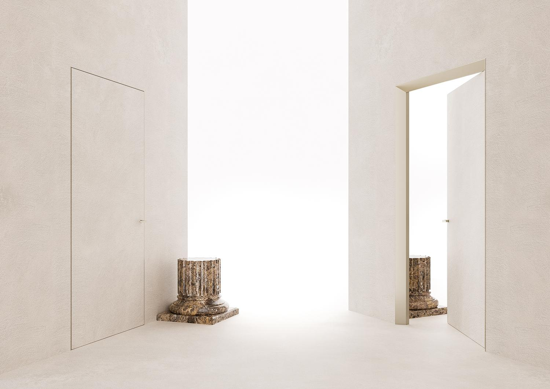 Porte Filo Muro Leroy Merlin.Eclisse 40 Collection L Evoluzione Delle Porte Filo Muro