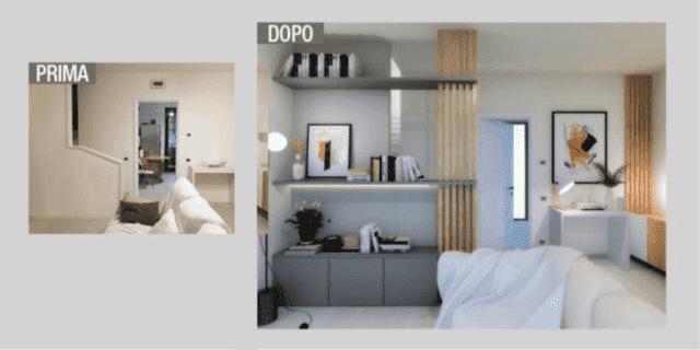 Progetti 3D: trasformare una parete anonima in uno sfondo accattivante