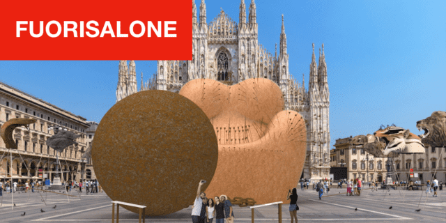 Installazioni in Piazza Duomo e vie centrali, e omaggi a Leonardo per la Design Week 2019