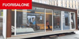 Fuorisalone 2019: in piazza Cordusio, la mini casa prefabbricata certificata CasaClima