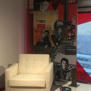 Poltrona Florence e collage