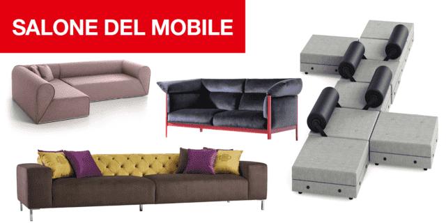 I nuovi divani al Salone del Mobile 2019. Isole di relax, anche per i visitatori!