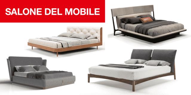 Al Salone Internazionale del Mobile 2019, i nuovi letti imbottiti, in legno e misti
