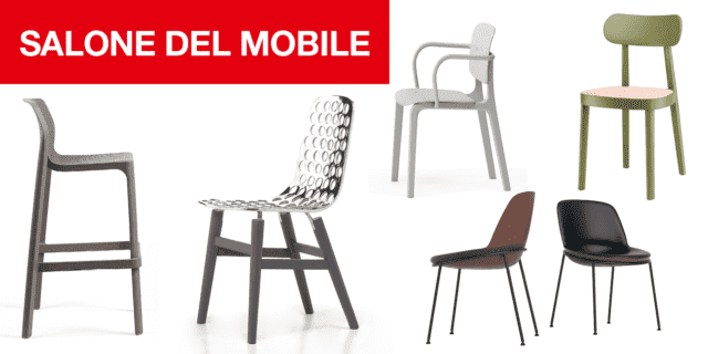 Novità: le sedie al Salone Internazionale del Mobile e del Complemento d'arredo 2019