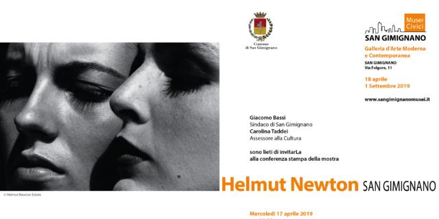 Helmut Newton. San Gimignano