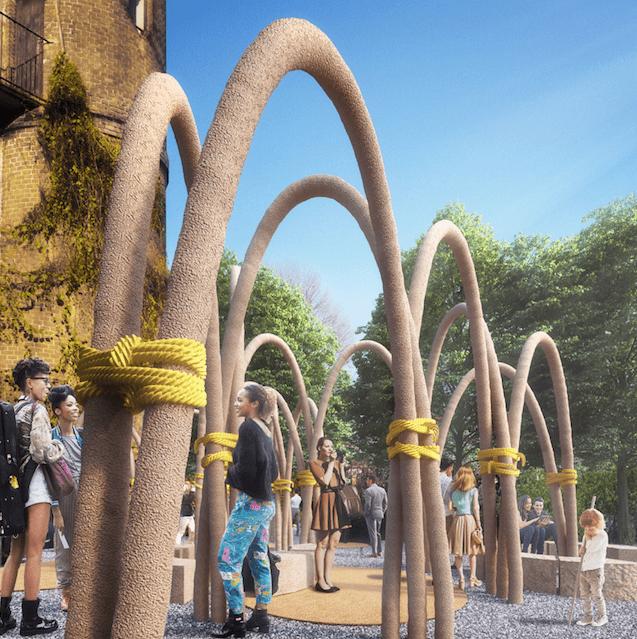 L'installazione The Circular Garden (strutture in micelio h 4 m.) è un progetto di Carlo Ratti Associati per ENI, volto a promuovere l'economia circolare. In mostra dall'8 al 19 aprile presso l'Orto Botanico tra via Fratelli Gabba 10 e via Brera 28.