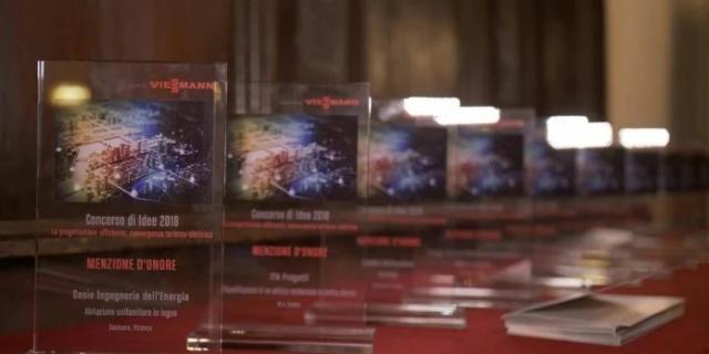 """Viessmann: i progetti vincitori del contest """"La progettazione efficiente: Convergenza termico-elettrico"""""""