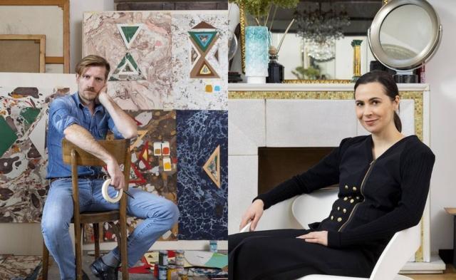 CEDIT presenta le nuove collezioni di rivestimenti di design firmate da Cristina Celestino e Federico Pepe. Lo Spazio CEDIT, impreziosito con un allestimento ad hoc, viene animato da una suggestiva performance artistica per esaltare le creazioni dei due designer.
