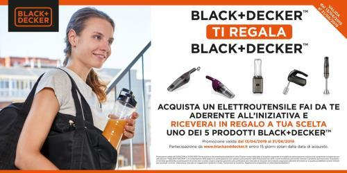 Locandina promo BLACK+DECKER™