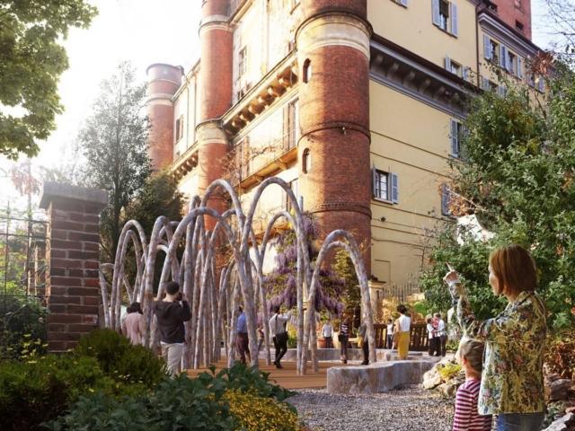 L'installazione all'interno dell'Orto Botanico in Brera è stata progettata dallo Studio Carlo Ratti Associati con Eni, sviluppando il tema dell'economia circolare attraverso il riciclo e il riuso delle materie prime. L'installazione fa parte della mostra-evento HUMAN SPACES.