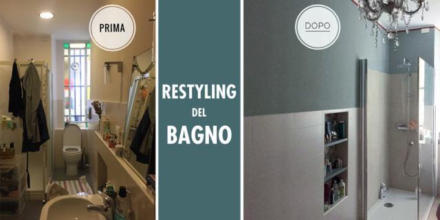 restyling del bagno
