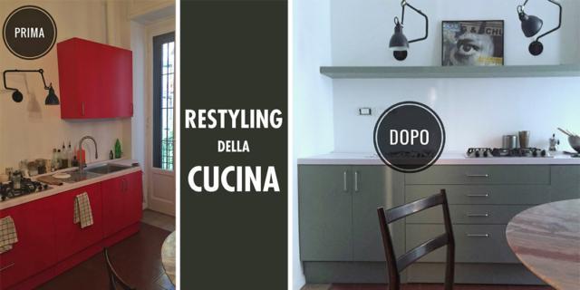 restyling della cucina