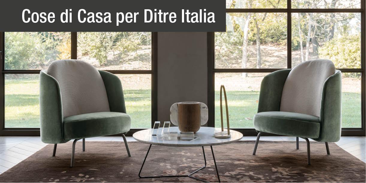 Poltrona lucia di ditre italia il design femminile dall for Lucia arredamenti triggiano