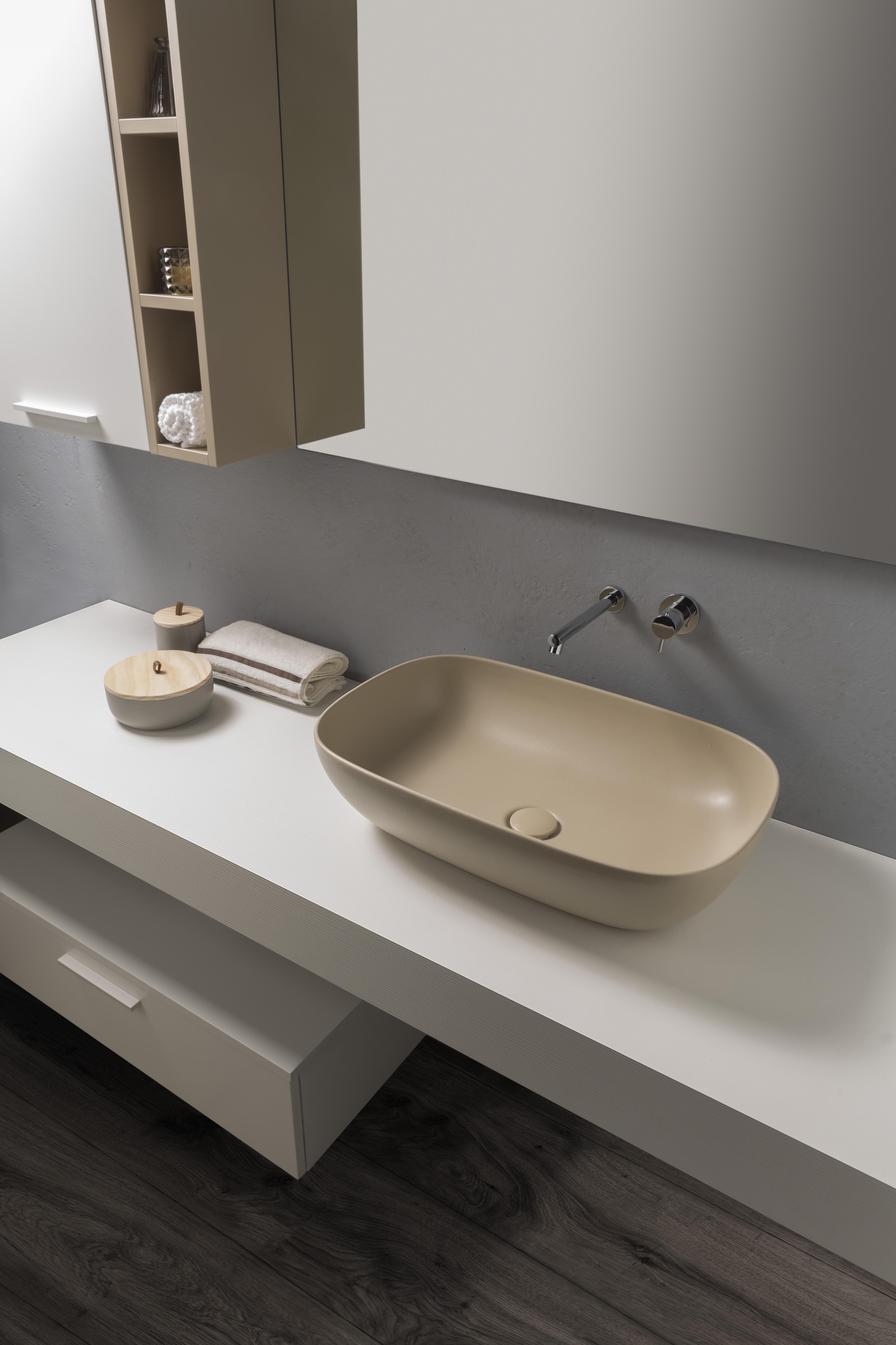 Lavello Cucina In Porcellana lavabi da appoggio: 18 modelli d'ogni forma, misura e colore