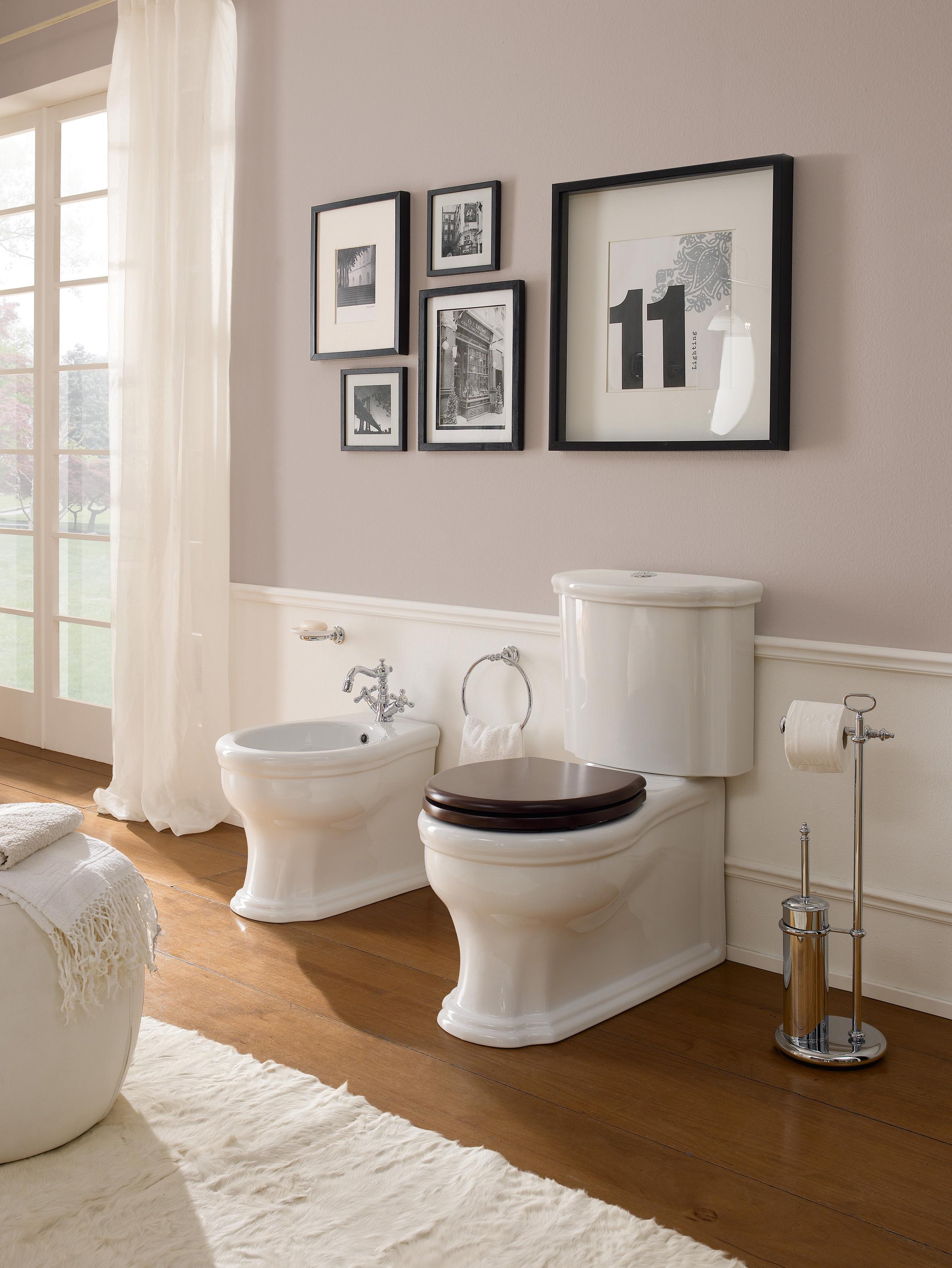 Accessori Classici Per Bagno.Sanitari Classici Per Un Bagno Elegante E Dal Fascino Retro Cose Di Casa