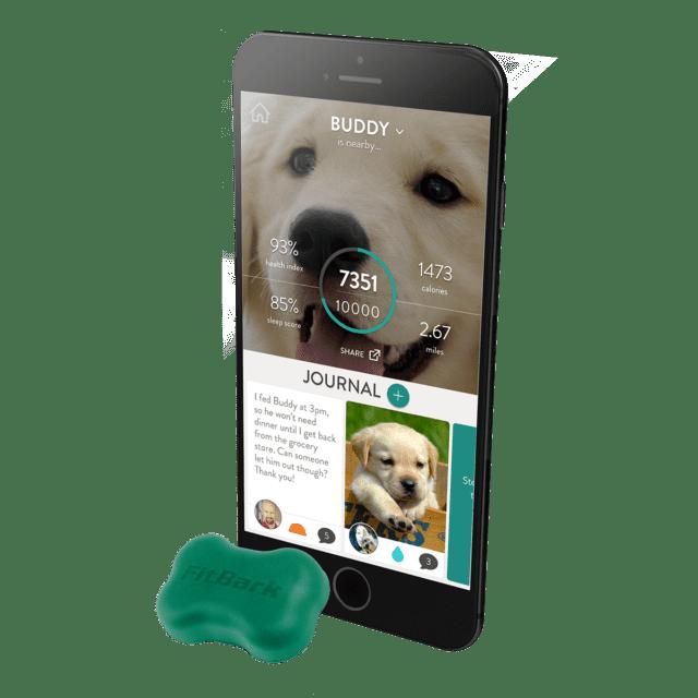 FitBark FitBark2 Sensore GPS Animali Domestici