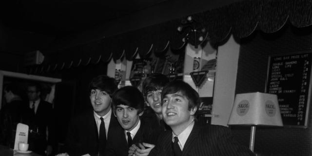Gino Begotti. The Beatles. 14 dicembre 1963