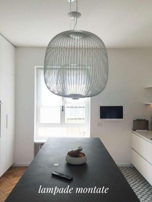 Montaggio lampade
