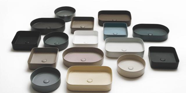 Lavabi da appoggio: 18 modelli d'ogni forma, misura e colore