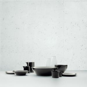 Servizio da tavola Tonale in ceramica stoneware design David Chipperfield