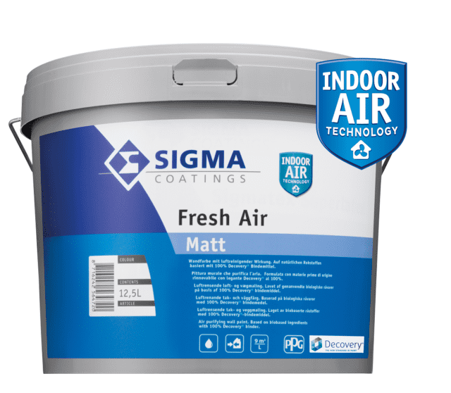 Sigma Coatings Fresh Air Pittura per Interni