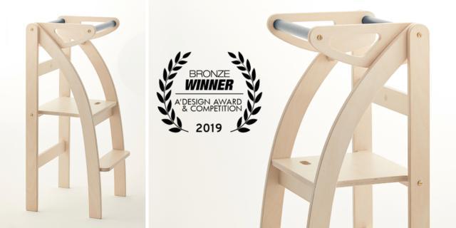 Vince il terzo premio la torretta montessoriana di Ettomio