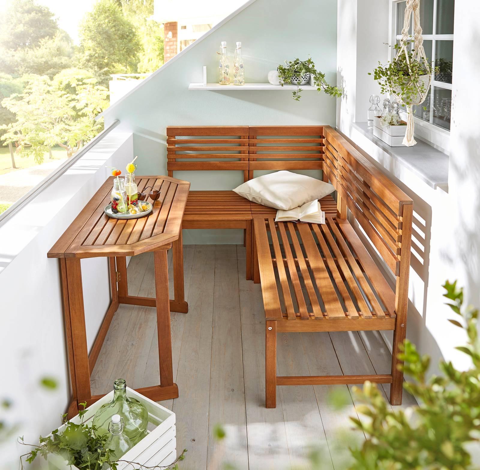 Tavoli per esterno con sedie per giardino o balcone for Sedie per esterno