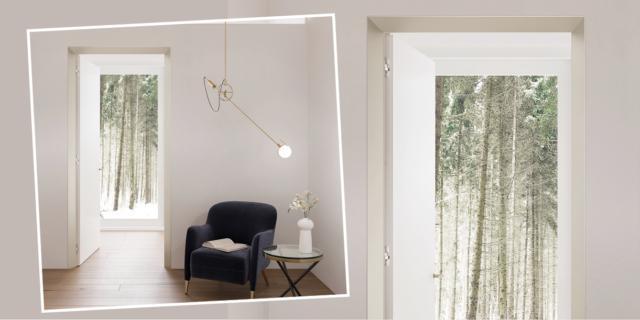 Porte filomuro: ECLISSE trasforma il lato meno appealing in elemento decorativo