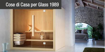 Glass 1989 porta a casa tua il benessere con la sauna Hoshi