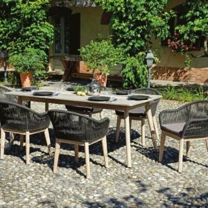 Tavoli per esterno con sedie, per giardino o balcone Cose