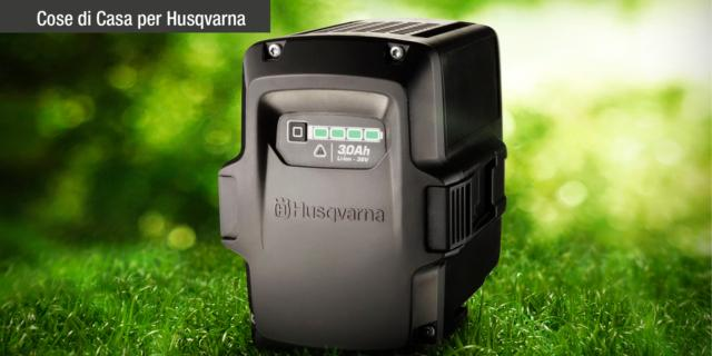 Prodotti a batteria Husqvarna: giardinaggio silenzioso dall'accensione immediata