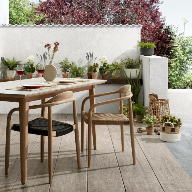 kave home tavolo e sedie per esterno