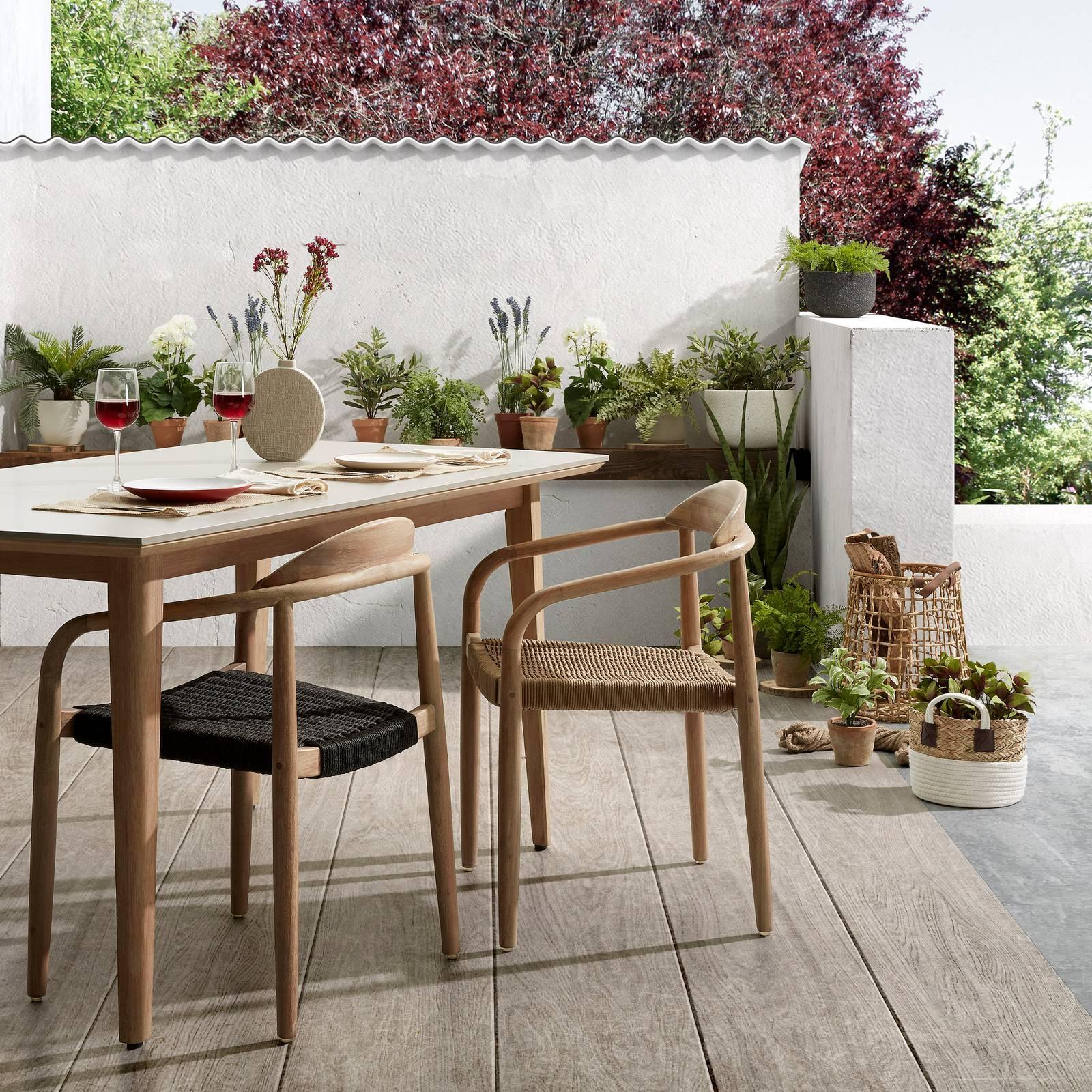 Maison Du Monde Sedie Da Giardino.Tavoli Per Esterno Con Sedie Per Giardino O Balcone Cose Di Casa