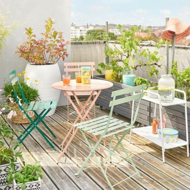 maisons du monde guinguette tavolo e sedie per esterno