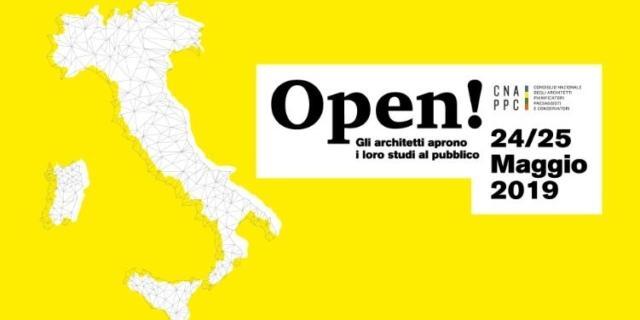 Open!Studi Aperti: il 24 e 25 maggio gli architetti aprono i loro studi al pubblico