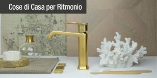Ritmonio presenta Taormina: semplicità ed eleganza per il bagno del futuro